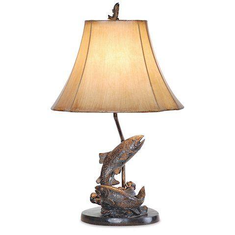 Emery Fish 25 Table Lamp In 2021 Fish Lamp Table Lamp Lamp
