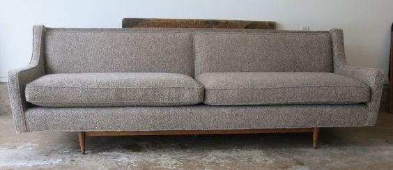Vintage Sofa Mid Century Modern | eBay