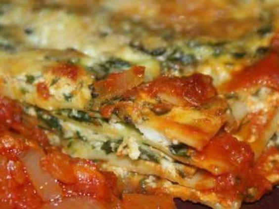 Mes Lasagnes au Brocciu, aux Epinards et Feuilles de Blettes
