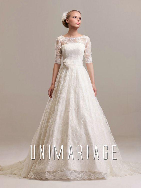 robe de mariée haut dentelle - Recherche Google  Robes de mariée ...