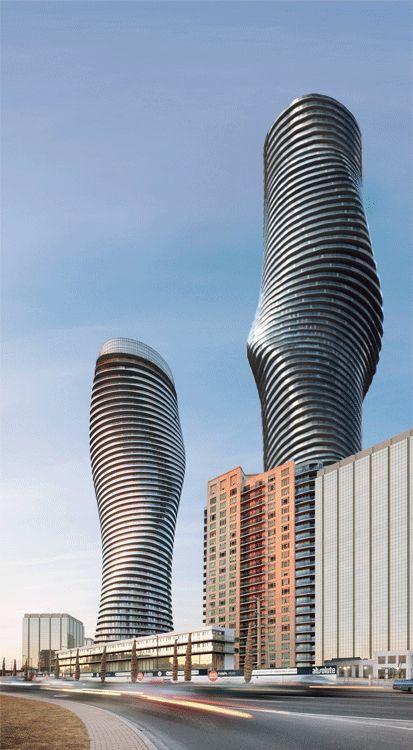 Axel de Stampa es el responsable de estos extraordinarios gifs que llevan la arquitectura a la cuarta dimensión. Básicamente lo que hizo fue redistribuir algunas de las construcciones contemporáneas más famosas y las mezcló para crear algo más.