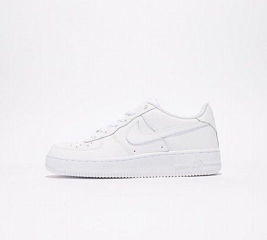 Junior Air Force 1 Low Trainer | Nike shoes air max, Black nike ...