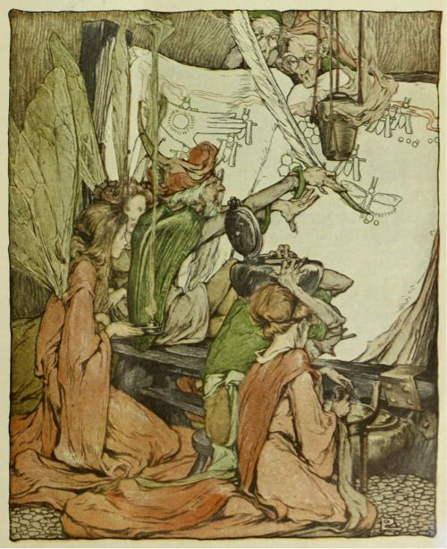 Clara Elsene Peck ~ The Adventures of Melissa ~ Collier's Weekly ~ 1908 ~ via   These things are written  in the Book of Queens, which is laid up in the hollow of  the Great Ash- Ydrasil