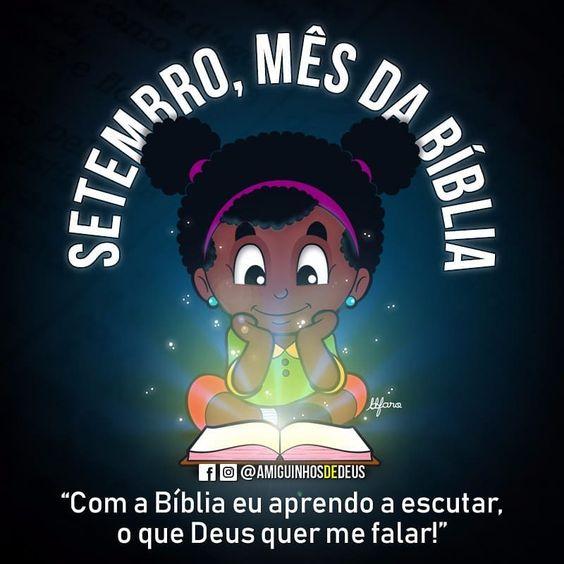 setembro mês da bíblia desenho