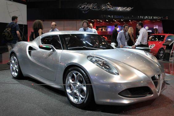Alfa Romeo 4C Concept должна пойти в серию