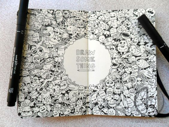 Doodle Art - De: Kerby Rosanes
