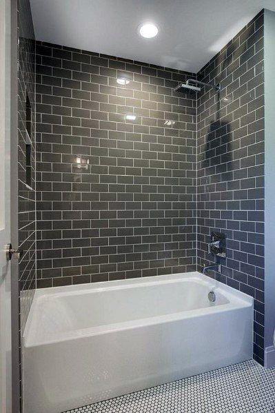 Top 60 Best Bathtub Tile Ideas Wall Surround Designs Bathtub Remodel Bathroom Design Bathtub Tile