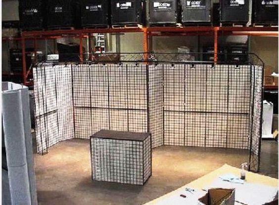 10' x 20' Gridwall Truss Booth