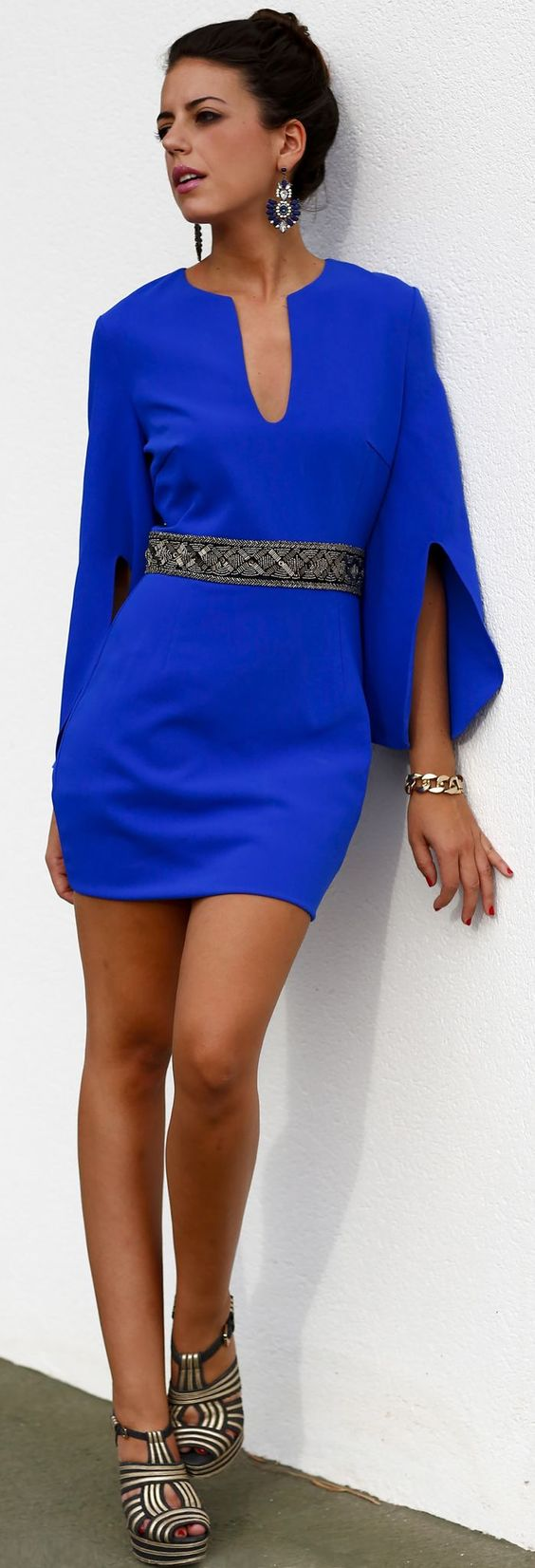 I love this color.  I don't know that I could wear something this short, but maybe I could.