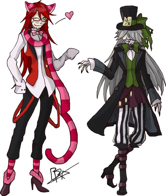 undertaker and grell the ova from black butler black