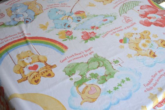 I think I had these same sheets!