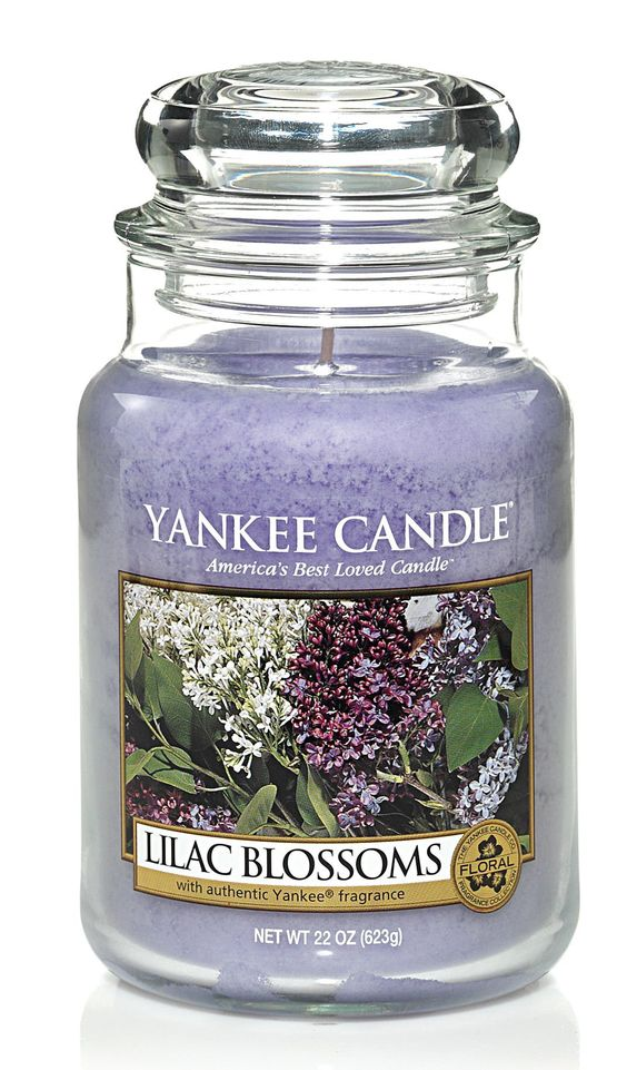 Lilac Blossoms Large Jar - Yankee Candle: Amazon.co.uk: Kitchen & Home