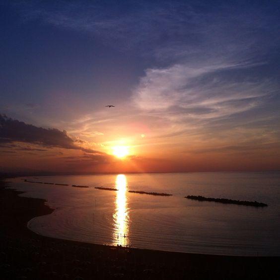 Termoli,sunset