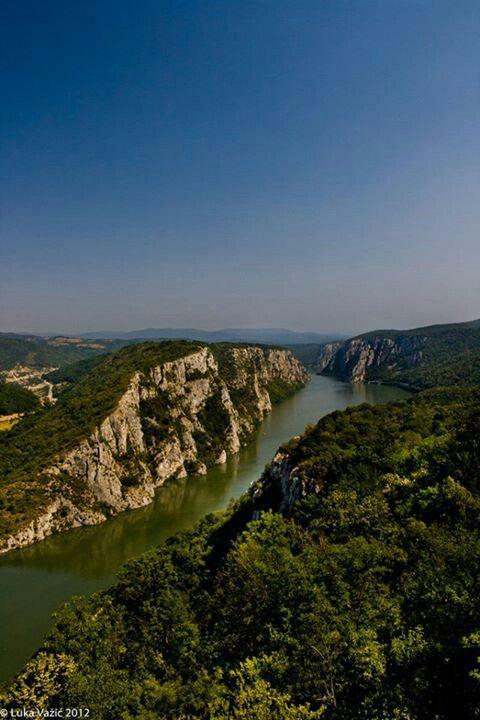 Iron Gates of the Danube, Serbia