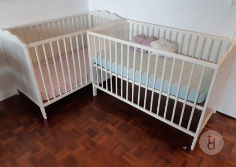 donne deux lits bebe ikea hensvik a