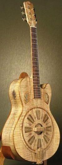 Bob Rigaud Resonator Guitar --- www.pinterest.com...                                                                                                                                                                                 More