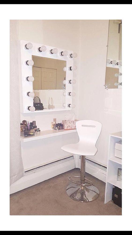 My little vanity setup☺️