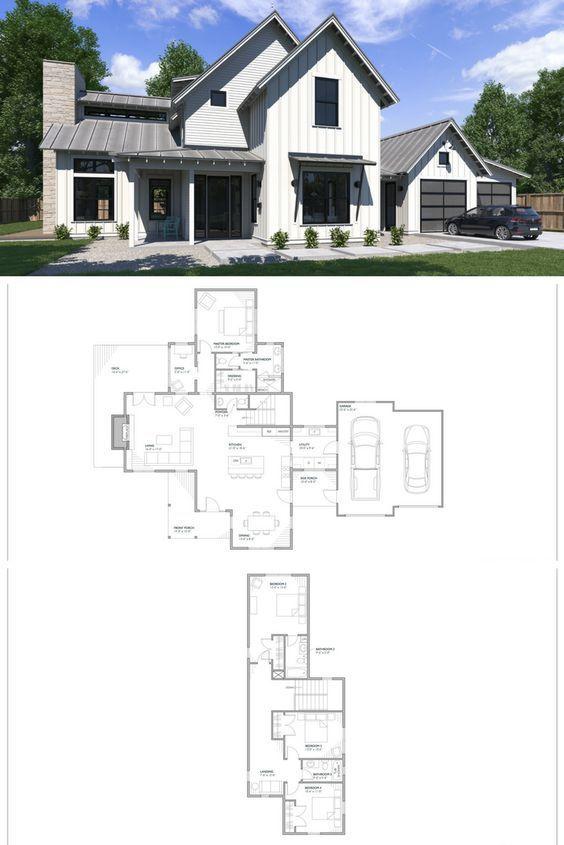 Perch Plans Farmhouse Floor Plans Modern Farmhouse Floorplan House Plans Farmhouse Farmhouse Floor Plans