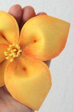 Flores Sencillas De Goma Eva Free Cfbjpg With Flores Sencillas De