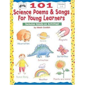 GV! 101 Science Poems & Songs for Young Learners (Grades 1-3) $10
