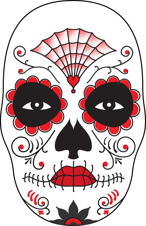 day of the dead skull mask template - surface fragments how to make a day of the dead mask i