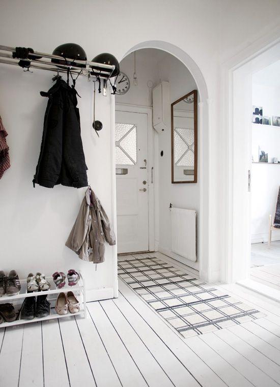 hallway entrance coats white floor boards white shoes jenny brandt dosfamily interior
