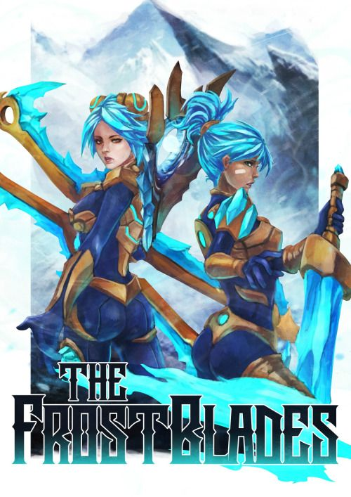 exiled-by-choice: The Frostblades - RIven x Irelia Riven and...