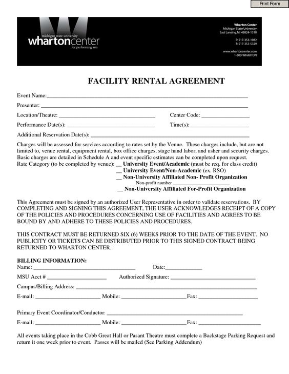 Sublease Agreement Template - Invitation Templates - sublet - sample parking lease agreement