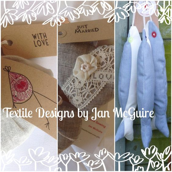 A little vintage loveliness designed and created by Jan Mcguire Love Sewing