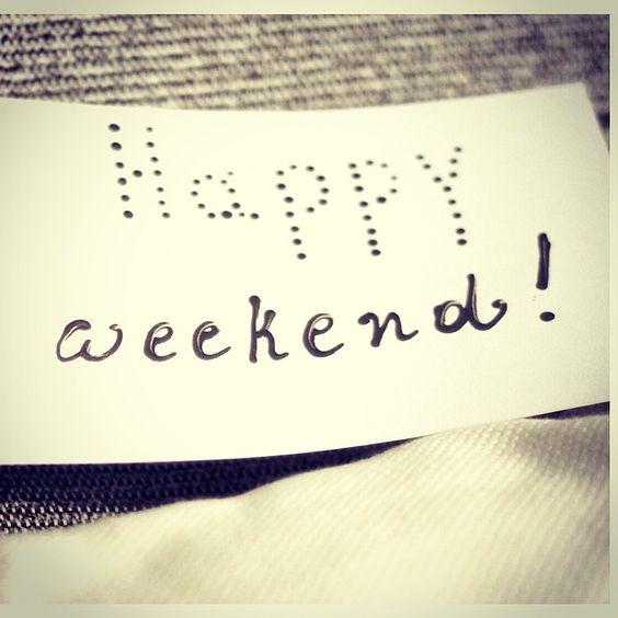 ¡Feliz sábado a todos!