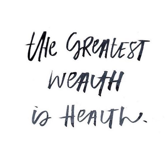 The greatest wealth is health.  #regram @more.soul #QOTD #Quoteoftheday #motherhood #momlife #mayarya