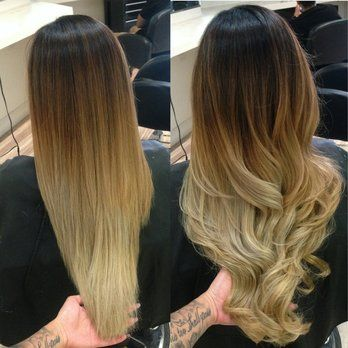 Showing Gallery For Balayage Ombre Vs Ombre