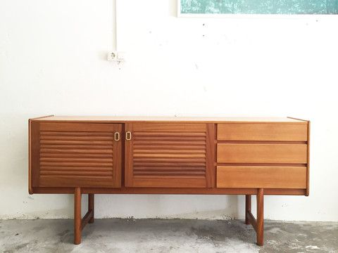 Aparador McIntosh - The Nave - midcentury - aparador - sideboard - macintosh - wood - woodwork - madera - furniture - mobiliario - thenave