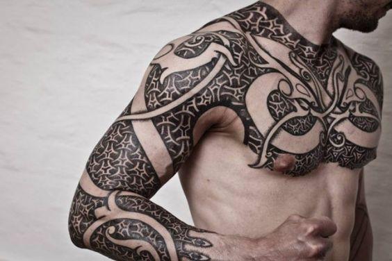 As incríveis tatuagens do tatuador Peter Madsen | Tinta na Pele