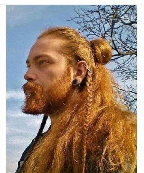 Pin By Rachel Peterson On Hair References In 2020 Viking Hair Hair Styles Mens Hairstyles