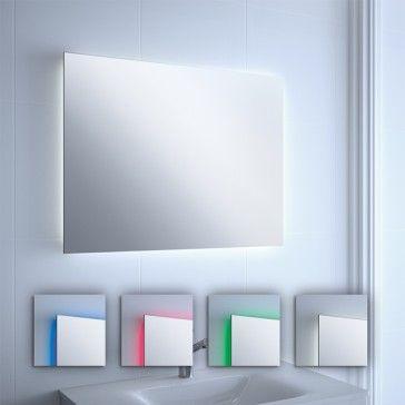 Espejo ba o con luz led colores espejos de ba o con luz - Espejos con luz ...