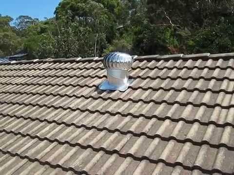 How I Fixed Our Noisy Roof Turbine Ventilator Youtube Turbine Ventilation Fan Installation