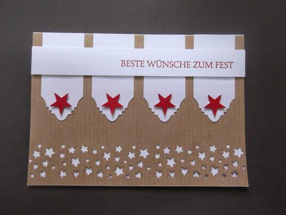 """Sconebeker Stempelscheune - Stampin up Set """" Klassische Weihnacht """""""