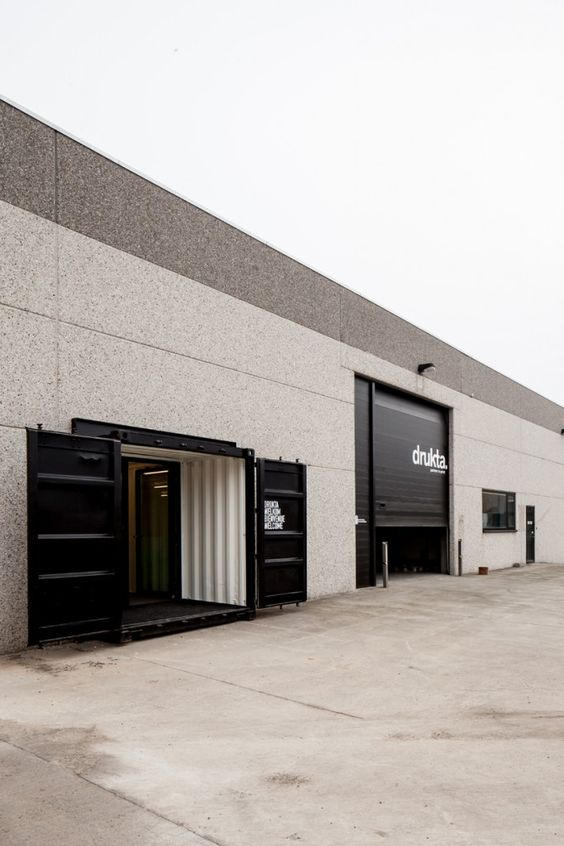 Shipping container offices for drukta   formail by 05 AM | thelayer