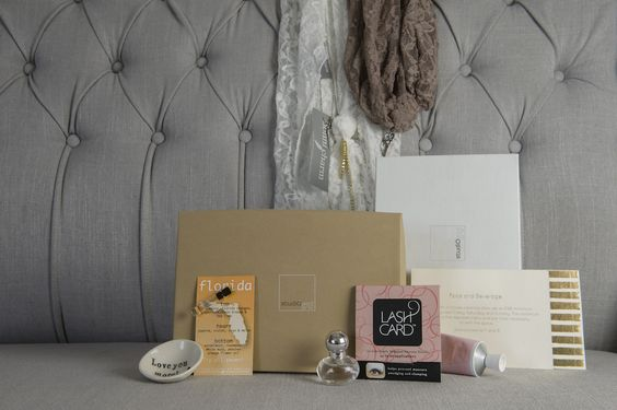 studiowedbox wedding monthly subscription box