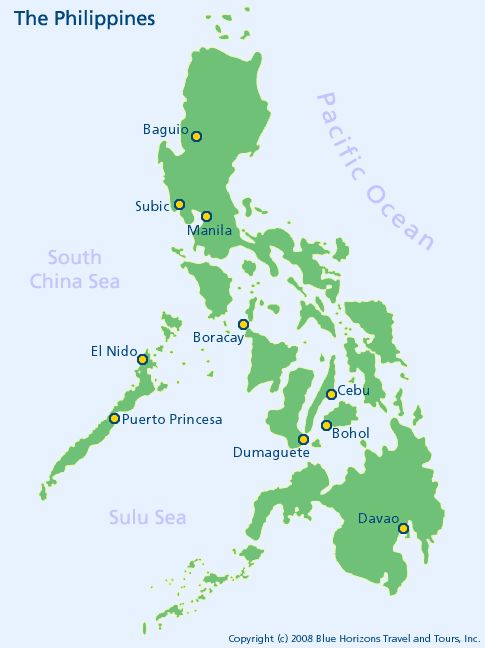 Image result for cebu and bohol, philippines, map