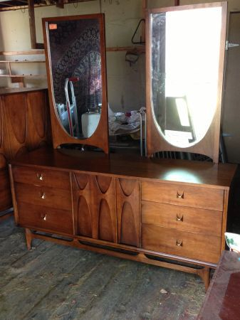 Best Broyhill Premier Brasilia Furniture Bedroom Set Vintage 400 x 300