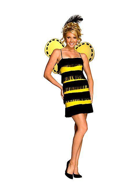 Sexy Bee Mine Adult Bumble Bee Costume