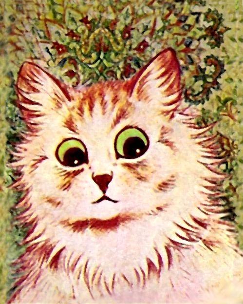 louis wain cat art