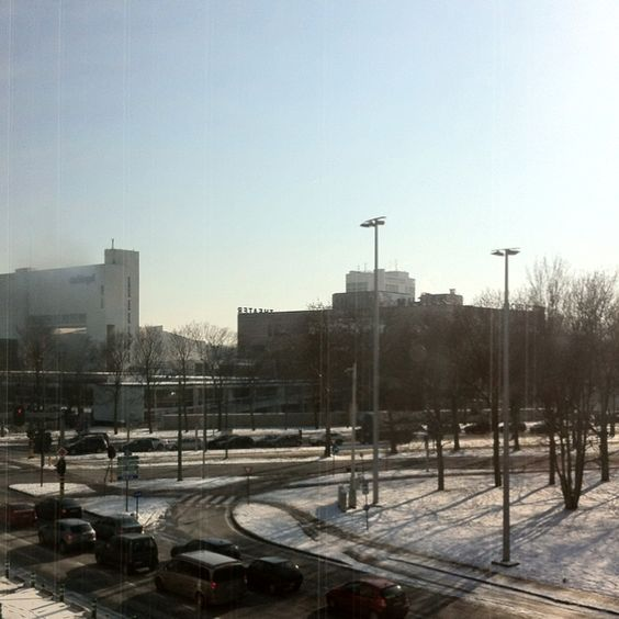 #antwerp with snow. So cold :s