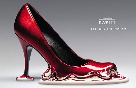 KAPITI. Designer Ice Cream. Ads