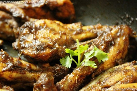 Jayati's Food Journey - Enjoy!!!: Pan Roasted Chicken Wings