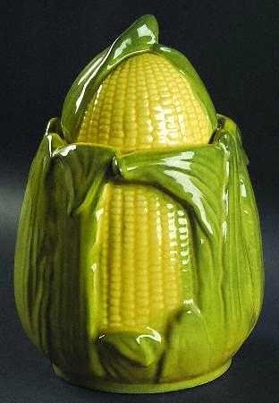 McCoy Corn cookie jar