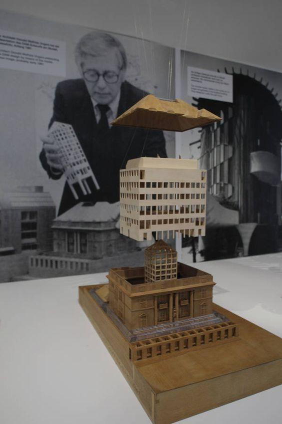 DAM Frankfurt Ausstellung Architekturmodell