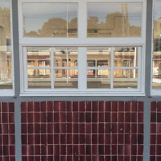 Through the looking glass #berlin #sbahn #wannsee #window #geometric #architecture